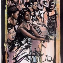 Ben Summers Khadi drawing