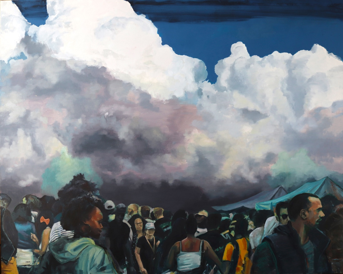 Above The Clouds - Painting by Ben Summers